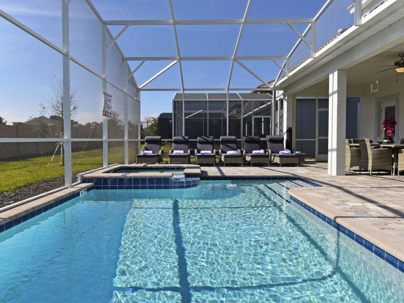 Ferienhaus 8-Bedroom Home at 1536 ChampionsGate Resort