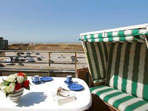 Ferienwohnung Penthouse mit Meerblick