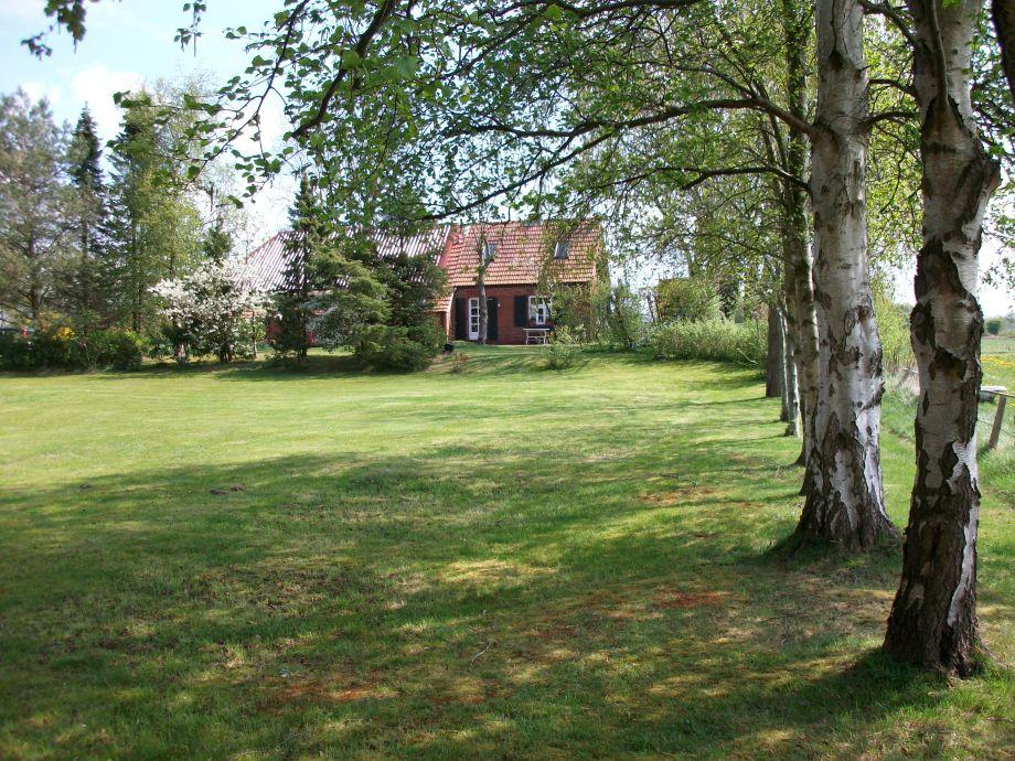 Ferienlandhaus Muschelweg im Sommer