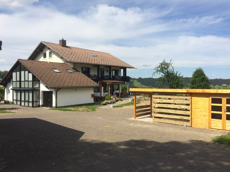 Ferienwohnung Alpenblick Haus Bergblick