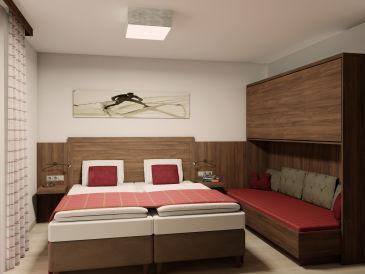 Zweizimmer Apartment im Haus Grafenberg
