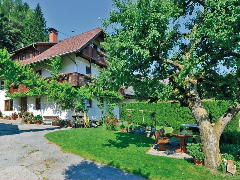 Das Ferienhaus im Sommer