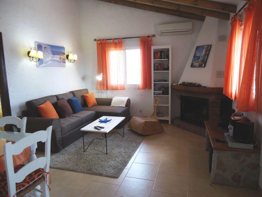 ferienhaus mediterráneo - einsam und strandnah, nerja - frau puri, Wohnzimmer