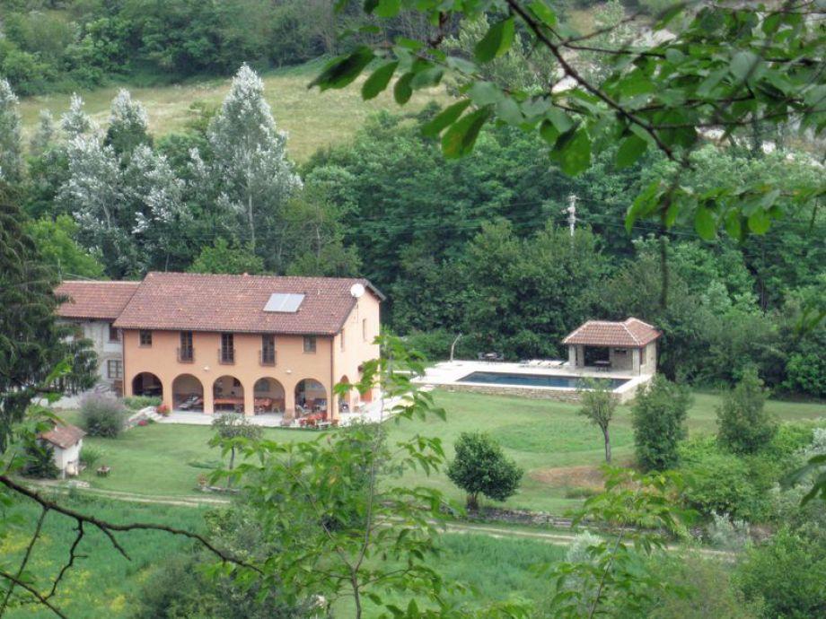 Landgut Pian del Nasso mit Pool