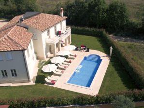 Ferienwohnung Ferienhaus Istra Villa Labinci Für 12 Personen