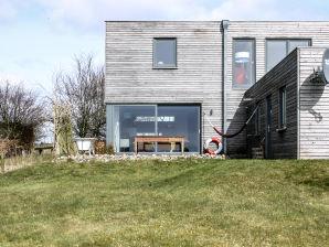 Ferienhaus Huus Nova Cube am Wattenmeer