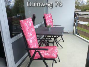 Ferienwohnung Zuiderstrand Duinweg 76