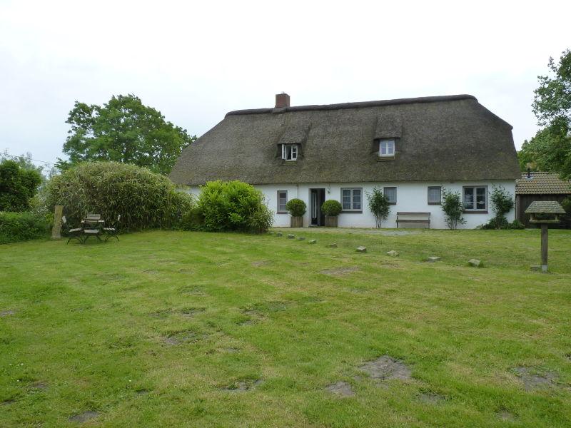 Ferienhaus Hus Opn Diek mit Garten