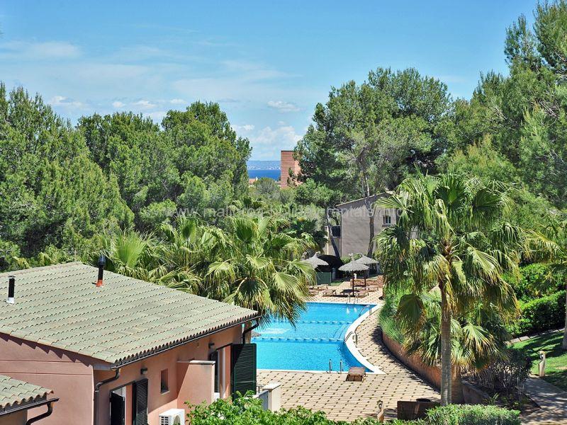 Holiday house Mallorca Cala Vinyes mit Pool
