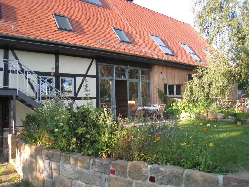 Ferienhaus Seminarscheune HOFKULTUR Lohmen Sächsische Schweiz