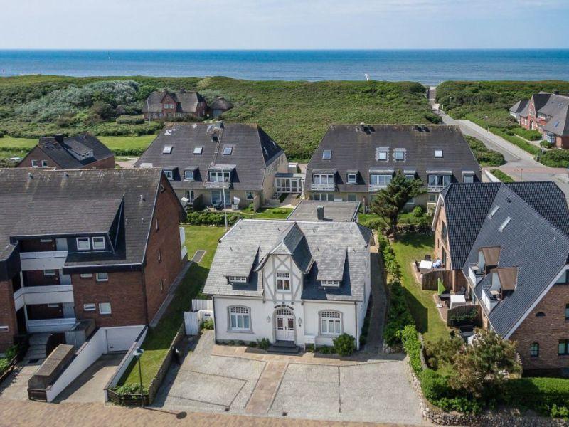 Ferienwohnung Bals Käpt'n Drake Weisses Haus am Meer
