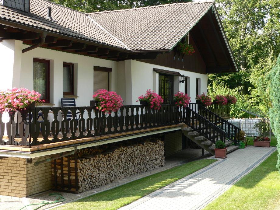 Haupteingang zur 4-Ferienwohnung I