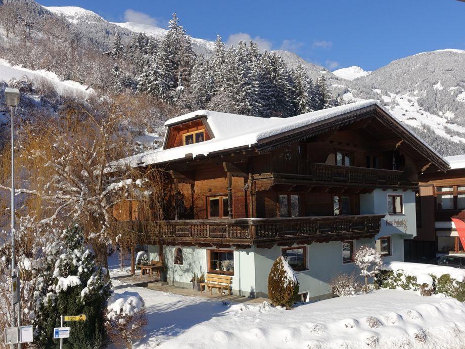 Ferienhaus Haberl im Winter