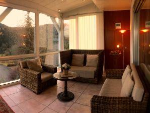 Ferienhaus mit Pool und Sauna