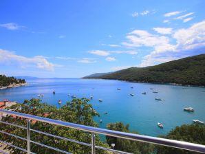 Ferienwohnung mit großem Meerblick & Terrasse