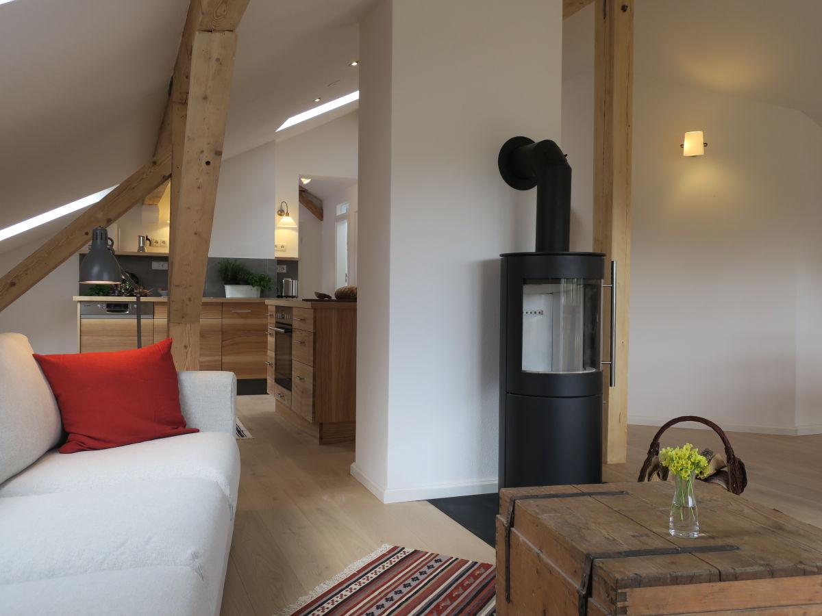 Ferienwohnung mayrhof dachgeschoss mittenwald herr alois mayr und katharina krause - Wohnzimmer dachgeschoss ...