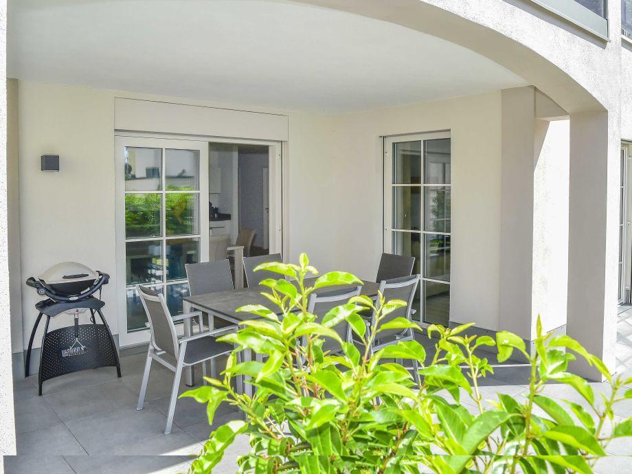 Terrasse mit Weber-Grill