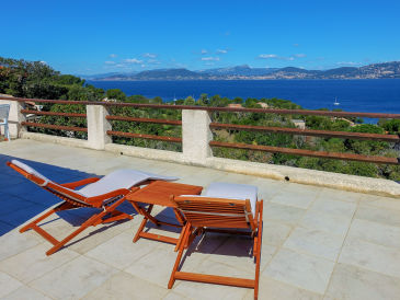 Ferienhaus auf Giens mit traumhaftem Meerblick