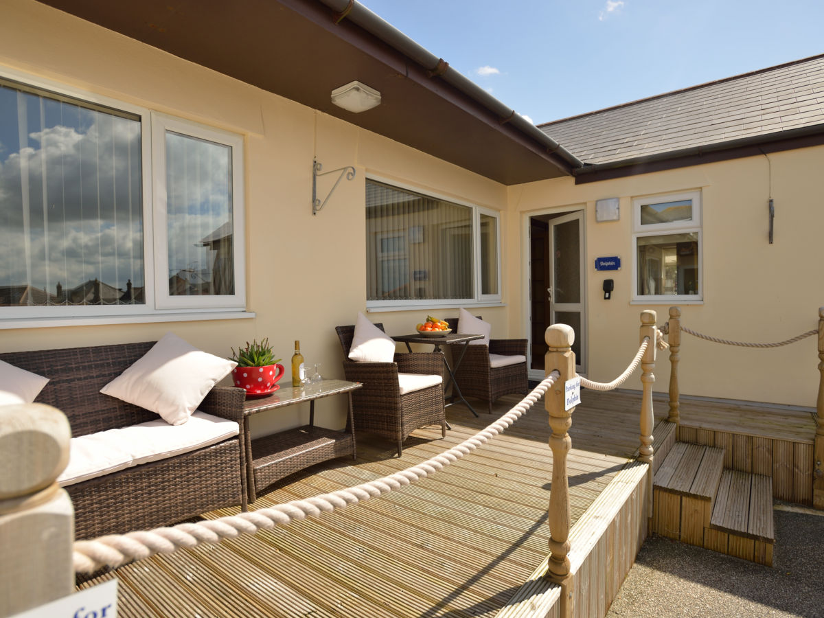 Holiday apartment Dolphin - Self Catering Cottage, St Ives Bay ...