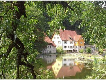 Ferienwohnung Müllerstube in der Weidenhäuser Mühle