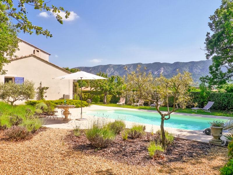 Ferienhaus mit privatem Pool in Oppède
