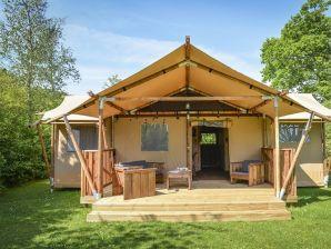 Bungalow Glamping Lodge 7p.