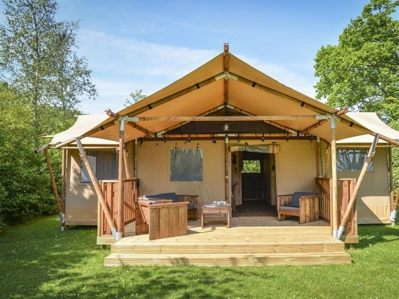 Bungalow Glamping Lodge 7 Personen