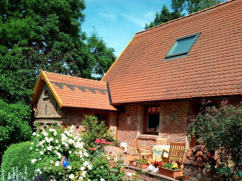 Ferienhaus im Rosengarten