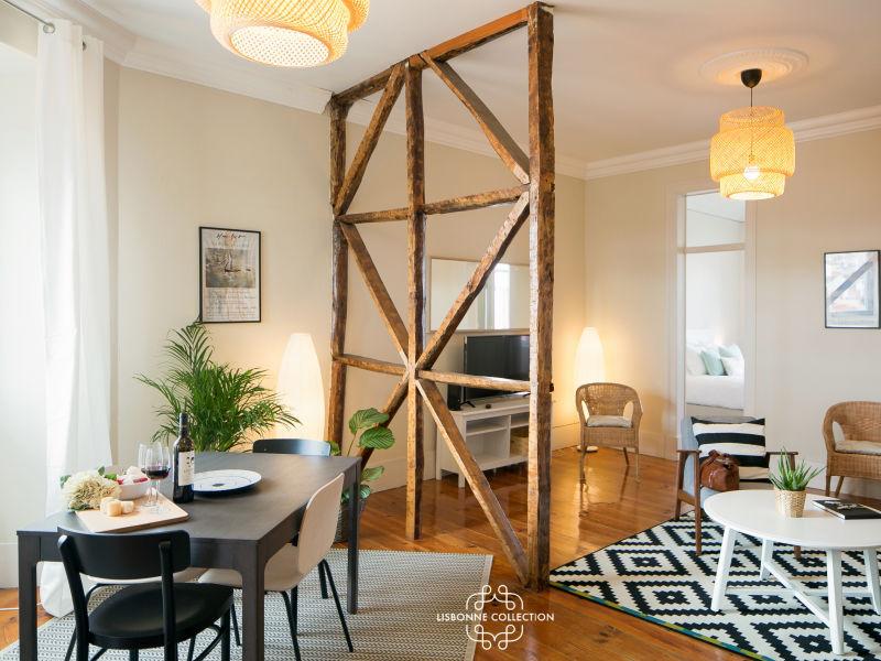 Apartment Graça Balkon mit Flussblick 61 von Lisbonne Collection