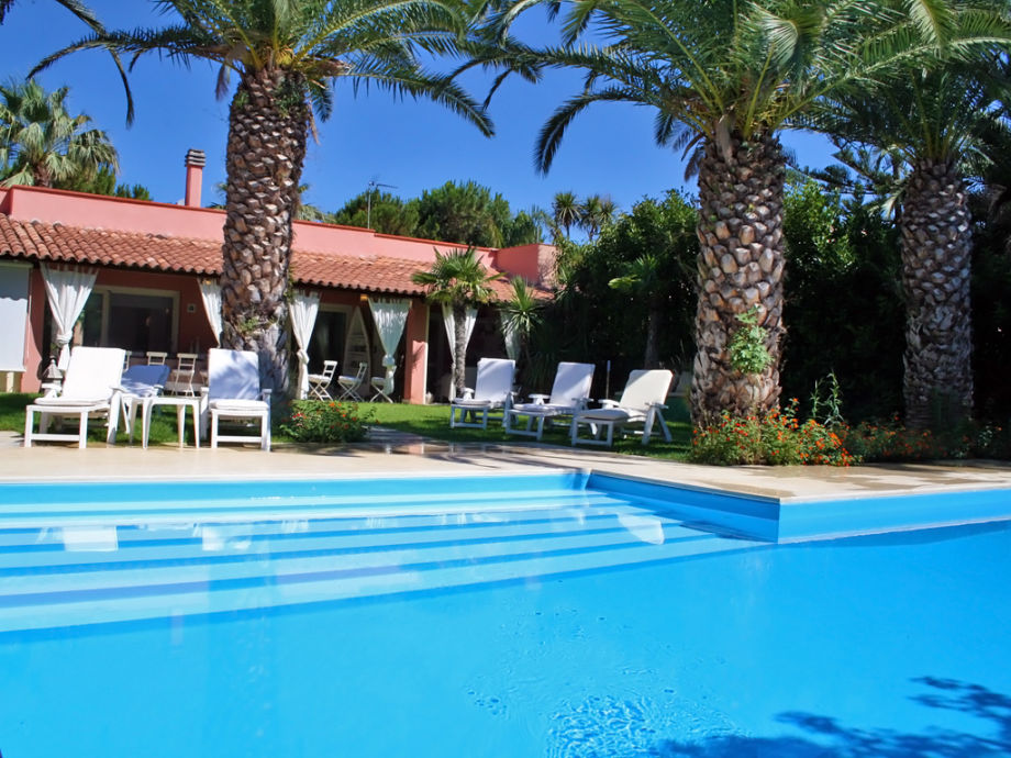 Villa mit Pool in Sizilien