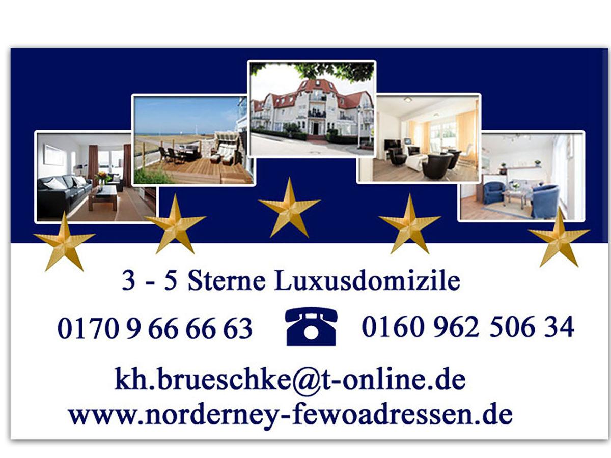 Ferienwohnung Weitblick Norderney Firma Norderney