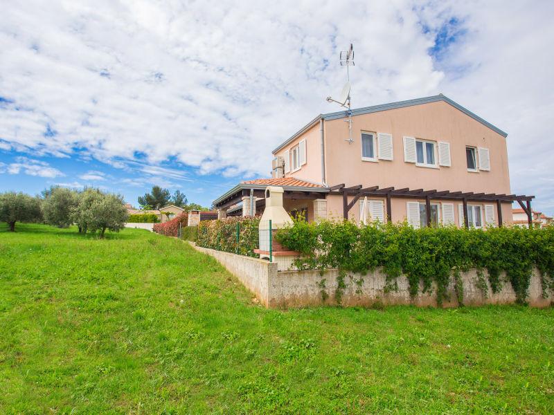 Ferienhaus Borgo mit Gartenblick