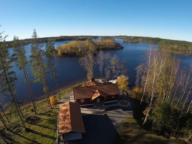 Ferienhaus Hurven 2 mit schwimmender Sauna