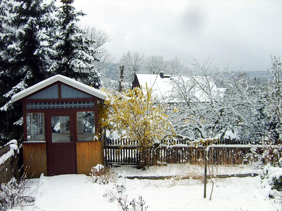 unser Hof mot Sommer- u. Winterbild