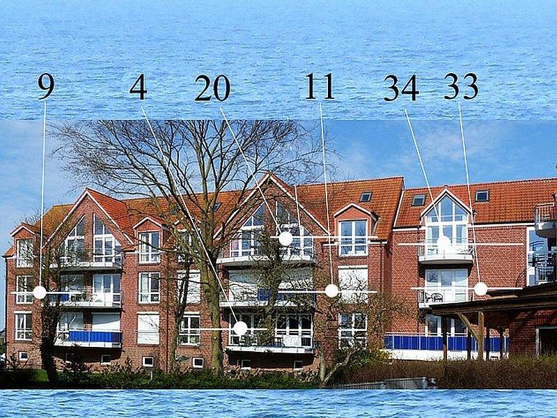 Ferienwohnung Möwennest - Blaue See 34