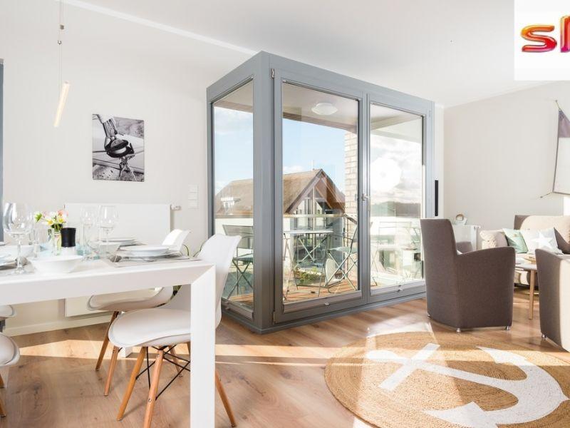 """Ferienwohnung Ostsee - Appartement Nr. 17.2 """"Skipper Lounge"""" inkl. TG-Platz im Strand Resort"""