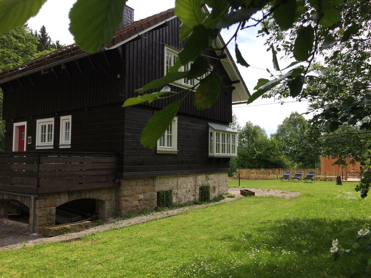 Ferienhaus harzer wiesenbaude brockengebiet braunlage for Haus mit garten