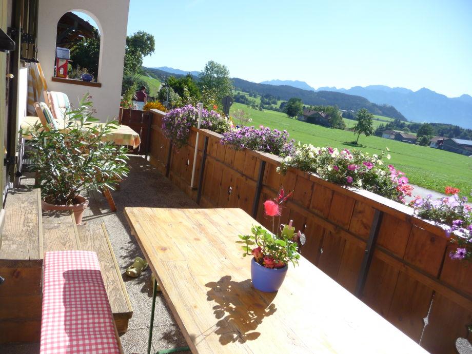 Terrasse *Alpenblick*