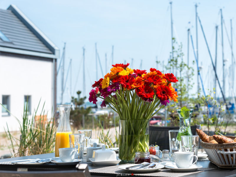 "Ferienhaus Ostsee - Reetdachhaus Nr. 41 ""Hafenflair & Meer"" im Strand Resort"