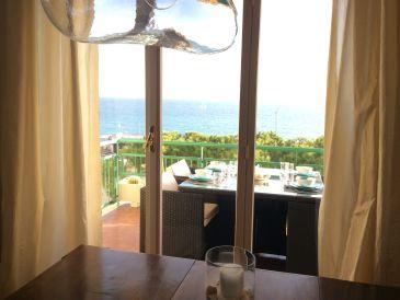 Holiday apartment Mediterranean dream terrace