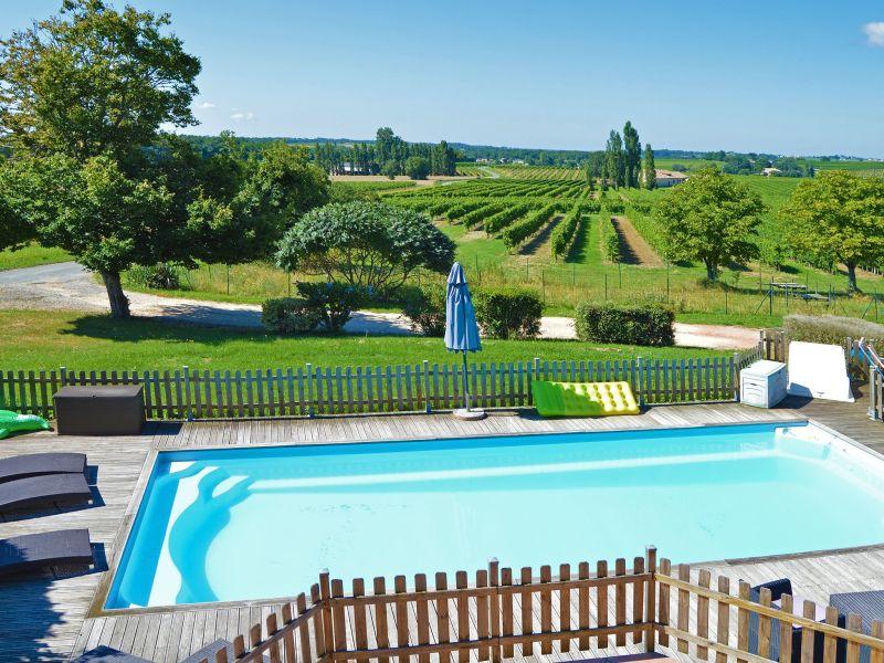 Ferienhaus Gîte avec piscine privée belles vues