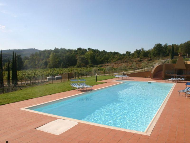Ferienhaus Ideal gelegen im Herzen der Toskana mit Pool
