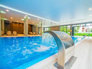 Holiday apartment Strandwohnung mit Schwimmbadt Ostsee Kolberg#Sauna