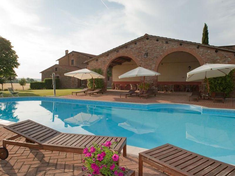 Ferienwohnung Agriturismo Le Case Coloniche (mit Pool/Restaurant)