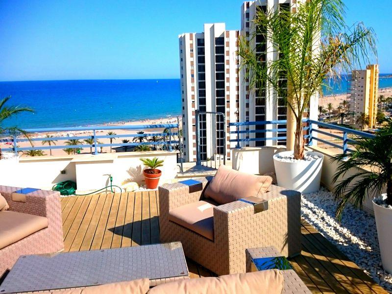 Ferienwohnung luxury beach penthouse
