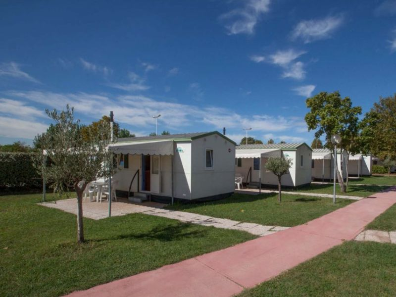 Trailer Bürstner-Adria mobile home at the Lake Garda  IT389