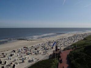 Ferienwohnung Lange Anna - Bester Meerblick direkt am Strand