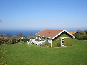Ferienhaus auf Bornholm mit super Meerblick