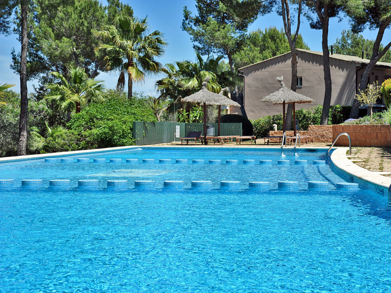 Ferienhaus mit Pool in Cala Vinyes ID2725