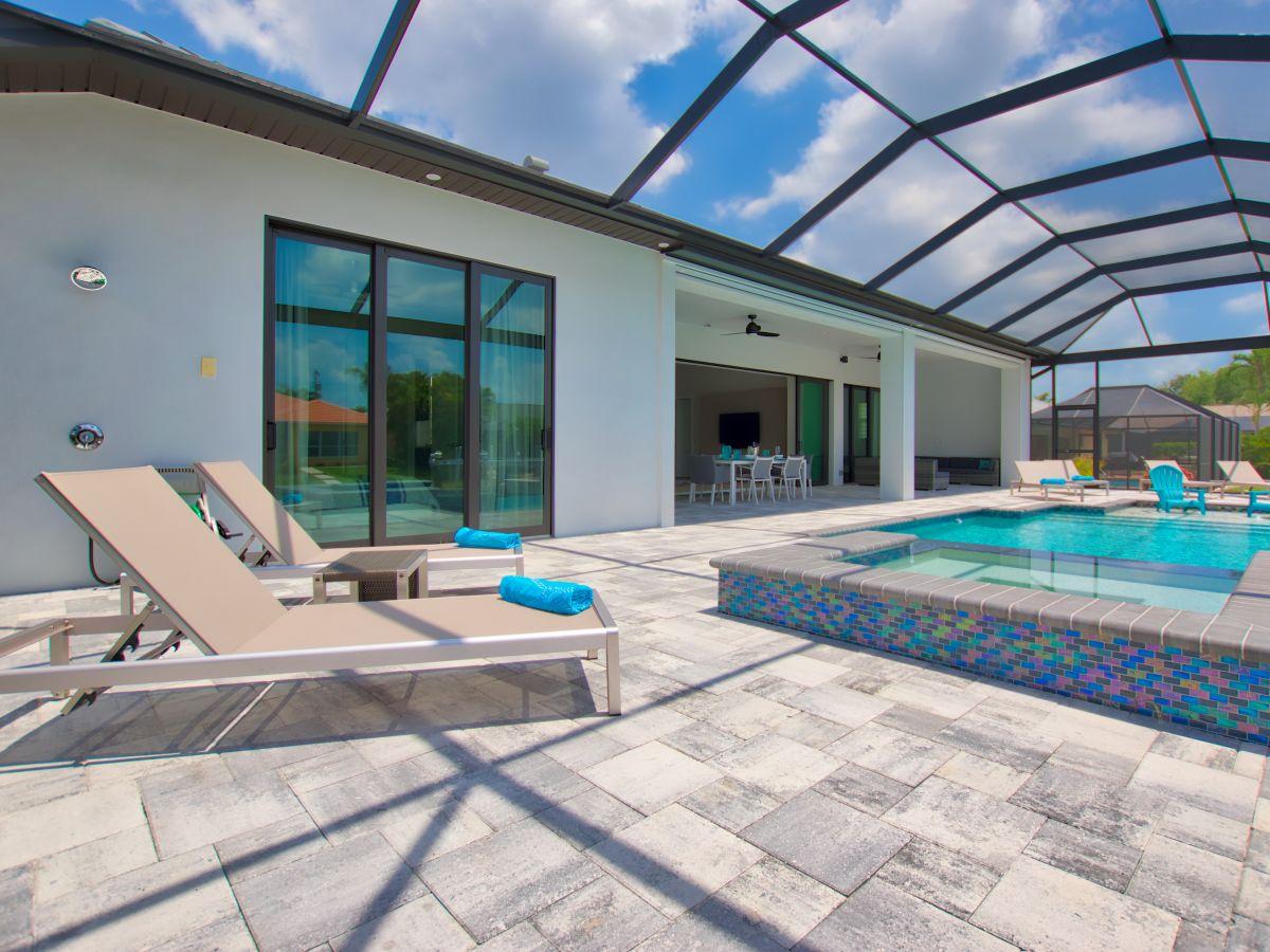 Villa Amazing Sunset, Cape Coral, Familie Torsten und Sabine Klein
